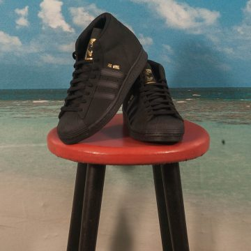 adidas Skateboarding - Pro Model - Black / Black