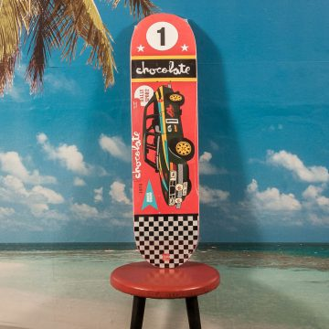 "Chocolate Skateboards - Tershy ""Rally Cars"" Deck - 8.25"