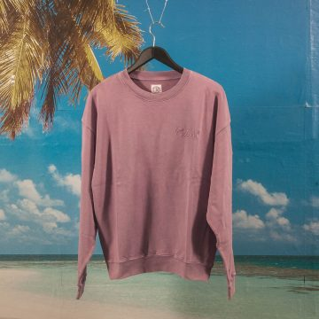 Polar Skate Co. - Garment Dye Crewneck - Purple