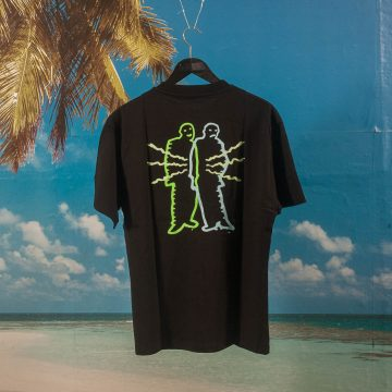 Polar Skate Co. - Electric Man T-Shirt - Black