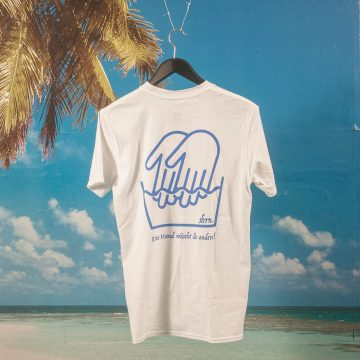 "SHRN - ""La Wash"" T-Shirt and Soap - White"