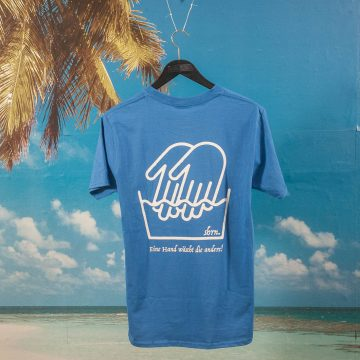 "SHRN - ""La Wash"" T-Shirt and Soap - Royal Blue"
