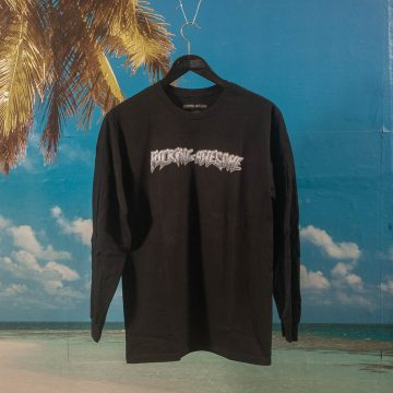 Fucking Awesome - Chrome Longsleeve T-Shirt - Black