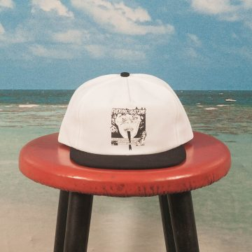 Fucking Awesome - Face Reality 5-Panel Hat - Black / White