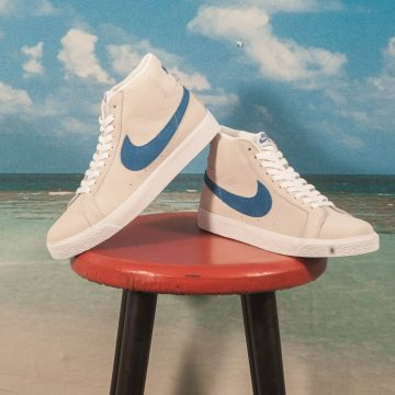 Nike SB - Blazer Mid Zoom - White / Royal