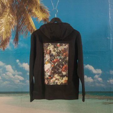 Poetic Collective - Flower Hoodie - Black