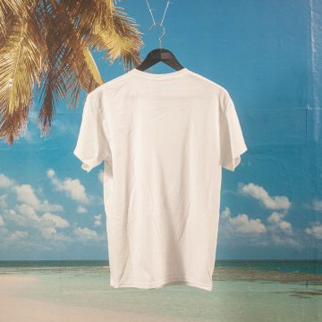 Poetic Collective - Half And Half T-Shirt - White