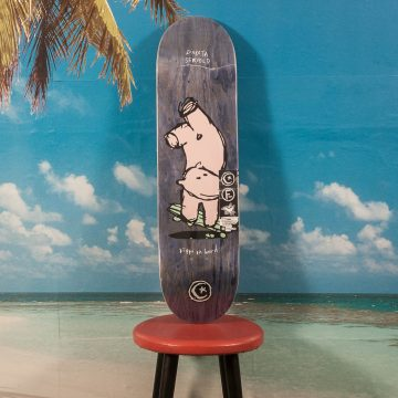 "Foundation - Servold ""Hippo"" Deck - 8.25"
