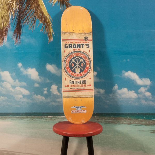 "Antihero Skateboards - Taylor ""General Mercantile"" Deck - 8.38"