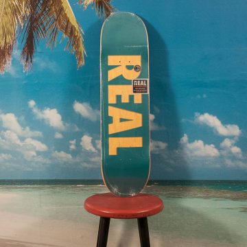 Real Skateboards - Team Bold Series Deck - 8.25