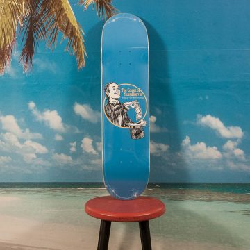 "Polar Skate Co. - Oskar Rozenberg ""The Count"" Blue Deck - 8.0"
