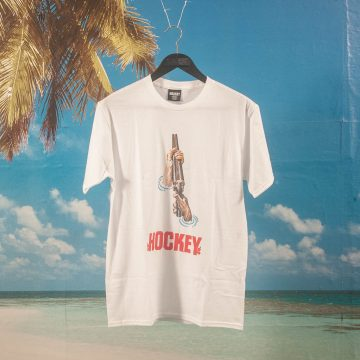 Hockey - Shotgun T-Shirt - White