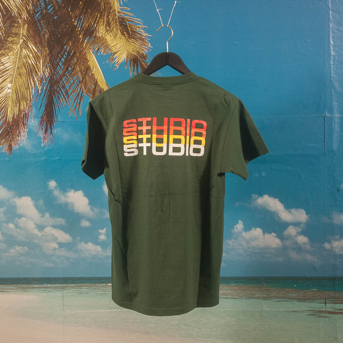 Studio Skateboards - Fade T-Shirt - Forest
