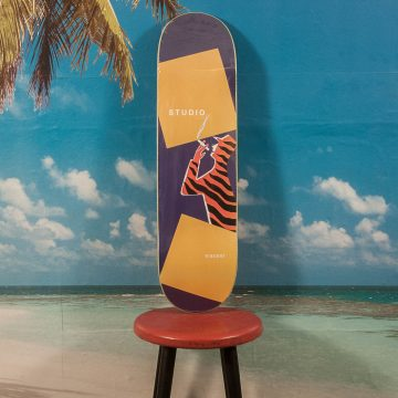 "Studio Skateboards - Wherry ""Tiger Man"" Deck - 8.375"