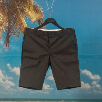 "Dickies - 11"" Slim Straight Work Short - Black"