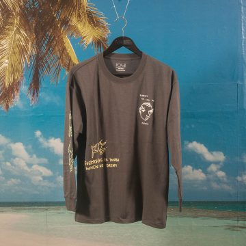 Polar Skate Co. - Notebook Longsleeve - Graphite