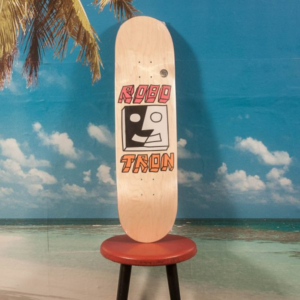 Robotron Skateboards - Split Face Wood Deck - 8.0