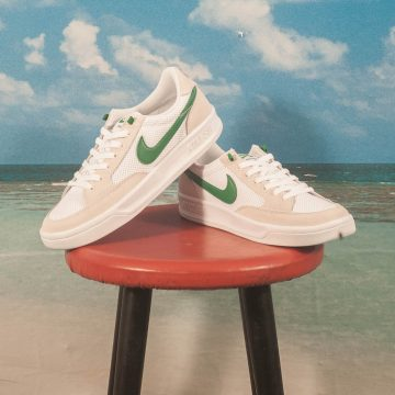 Nike SB - Adversary - White / Pine Green