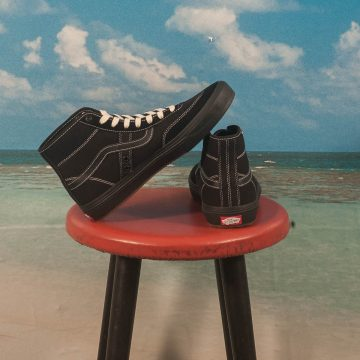 Vans - Crockett High Pro - Black / Black