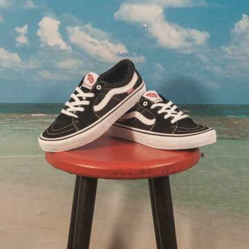 Vans - Sk8-Low Pro - Black / White