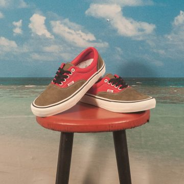 "Vans - Era Pro Ltd ""Lotties"" - Red / Military"