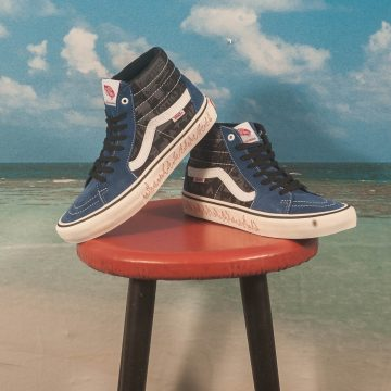 "Vans - Sk8-Hi Pro Ltd ""Lotties"" - Blue / Black"
