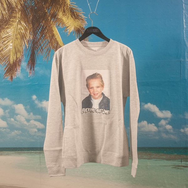 Fucking Awesome - Vincent Class Photo Crewneck - Heather Grey