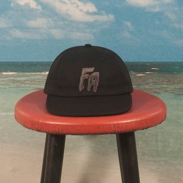Fucking Awesome - FA Formless 6 Panel Hat - Black