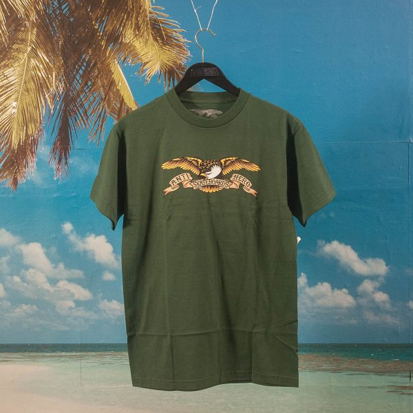 Antihero Skateboards - Eagle T-Shirt - Forest Green