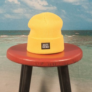 Antihero Skateboards - Lil Blackhero Beanie - Yellow