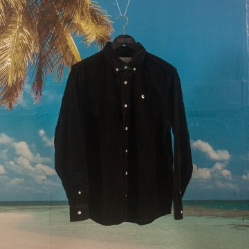 Carhartt WIP - Madison Cord Shirt - Black