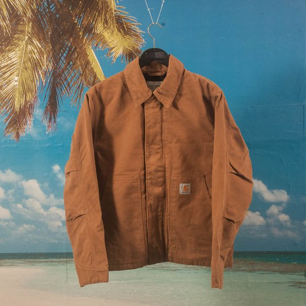 Carhartt WIP - Arcan Jacket - Hamilton Brown Rinsed
