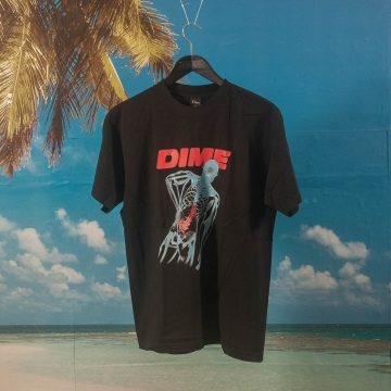 Dime MTL - Back Pain T-Shirt - Black