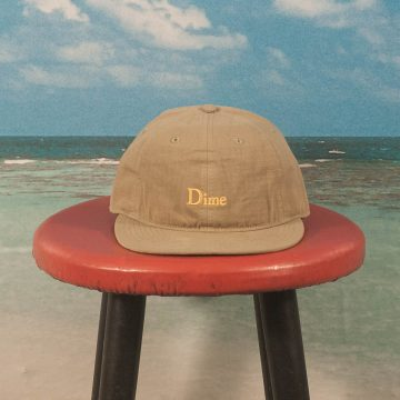 Dime MTL - Classic Logo Hat - Military Green