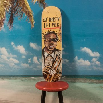 "Stereo Skateboards - Leeper ""Ol Dirty"" Deck - 8.1"