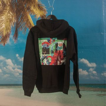 Polar Skate Co. - Moth House Hoodie - Black