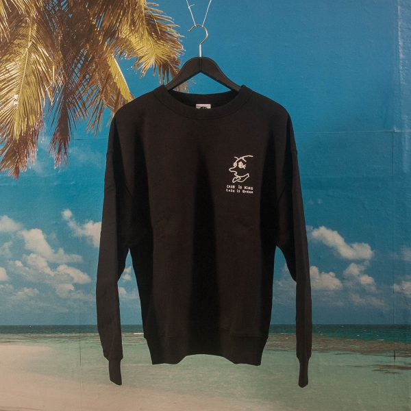 Polar Skate Co. - Cash Is Queen Crewneck - Black