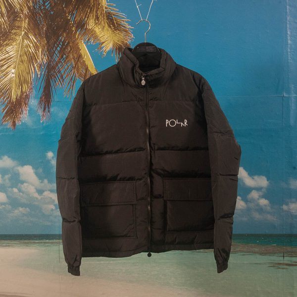Polar Skate Co. - Pocket Puffer Jacket - Black