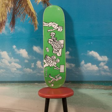 "Polar Skate Co. - Boserio ""Cash Is Queen"" Green Deck - 8.375"