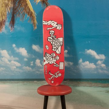 "Polar Skate Co. - Boserio ""Cash Is Queen"" Red Deck - 8.125"