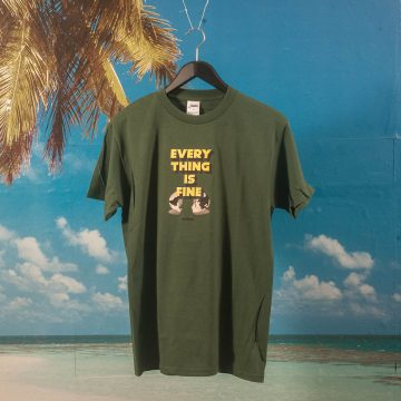 Studio Skateboards - I´M Fine T-Shirt - Forest