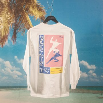 Studio Skateboards - Just Dance L/S T-Shirt - White
