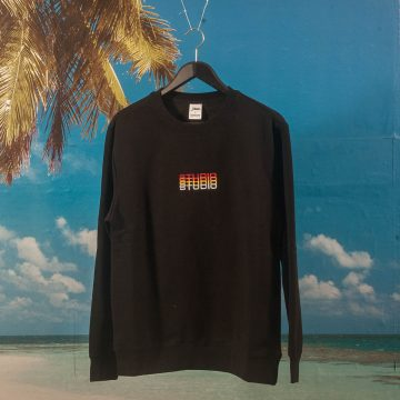 Studio Skateboards - Fade Crewneck - Black