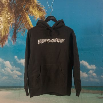 Fucking Awesome - Actual Visual Guidance Hoodie - Black