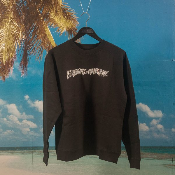 Fucking Awesome - Actual Visual Guidance Crewneck - Black