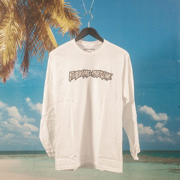 Fucking Awesome - Actual Visual Guidance L/S T-Shirt - White