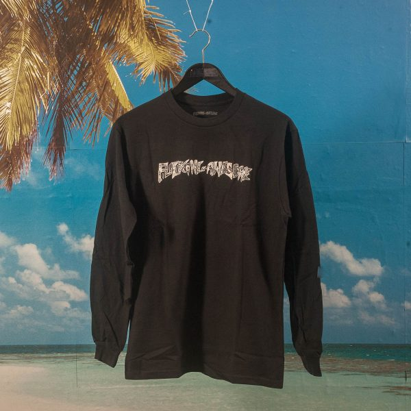 Fucking Awesome - Actual Visual Guidance L/S T-Shirt - Black