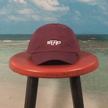 Studio Skateboards - Connect 6-Panel Cap - Burgundy