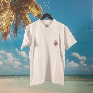 Vans - Slam City Skates Pocket T-Shirt - White
