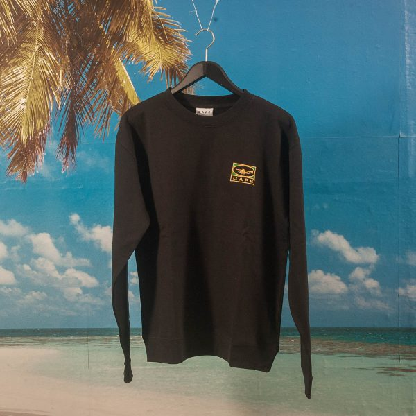 "Skateboard Cafe - ""45"" Crewneck - Black"